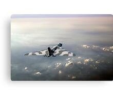 Vulcan over the Channel Canvas Print