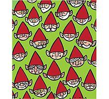 Happy Christmas Elves Photographic Print