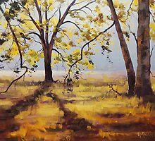 Backlight Trees by Graham Gercken