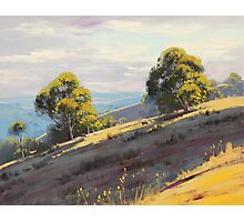 Kanimbla Valley Hills, nsw Photographic Print