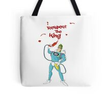 Respect The Condiment King Tote Bag