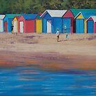 Beach Boxs Mornington by Graham Gercken