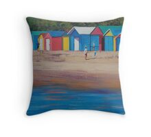Beach Boxs Mornington Throw Pillow