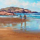 Beach Couple by Graham Gercken