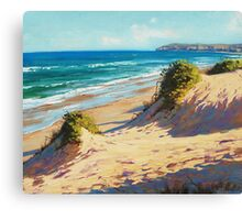 Central Coast Dunes Canvas Print