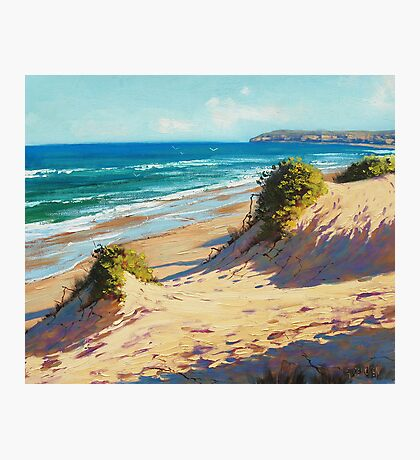 Central Coast Dunes Photographic Print