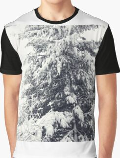 January Snowstorm Graphic T-Shirt