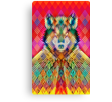 Corporate Wolf Canvas Print