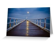Point Lonsdale Pier Greeting Card