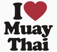 I Love Muay Thai by iheart