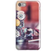 Little Robot Engineer  iPhone Case/Skin