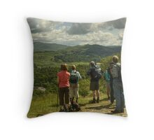 A Walk In The Park....Views To Loughrigg Throw Pillow