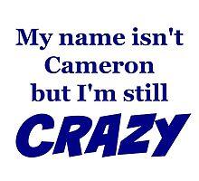 Cameron Crazy by nyah14
