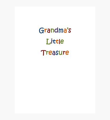 Grandma's Little Treasure  Photographic Print