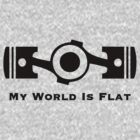 Subaru My World is Flat by upick