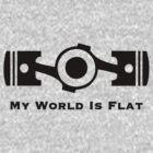 Subaru My World is Flat by upick