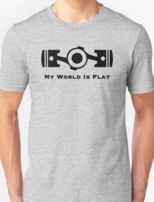 Subaru My World is Flat T-Shirt
