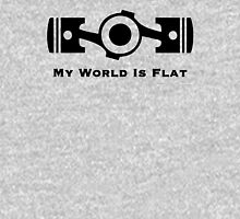 Subaru My World is Flat Unisex T-Shirt