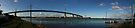 westgate bridge super wide panorama 001 by Karl David Hill