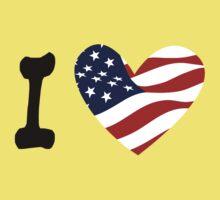 I love America Kids Tee