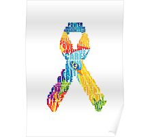 Let's help fight cancer Poster