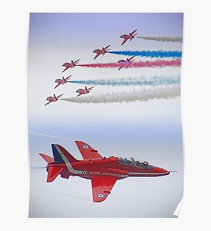 The Red Arrows - Farnborough 2012 Poster