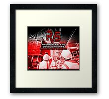 RVS Properties And Developments. Construction Business, Brand Loyalty Gifts Framed Print