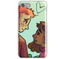 Ron and Hermione iPhone Case/Skin