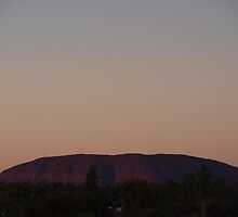 Uluru # 1  by Virginia  McGowan