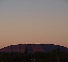 Uluru # 1  by Virginia  McGowan