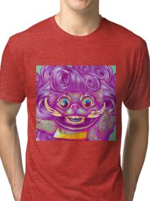 Wild Side (face) Tri-blend T-Shirt