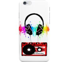 K7 HEAD PHONE iPhone Case/Skin