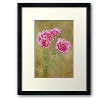 Victoriana Roses Framed Print