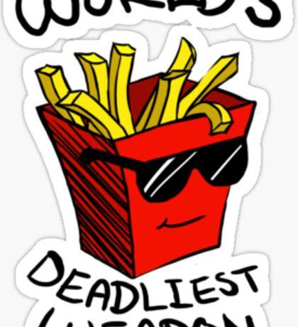 World's Deadliest Weapon (Original) Sticker