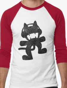 SprayPaint Cat Men's Baseball ¾ T-Shirt