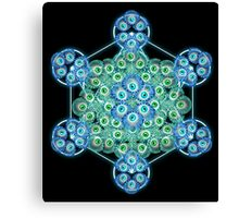 Sacred GeometrEyes Canvas Print