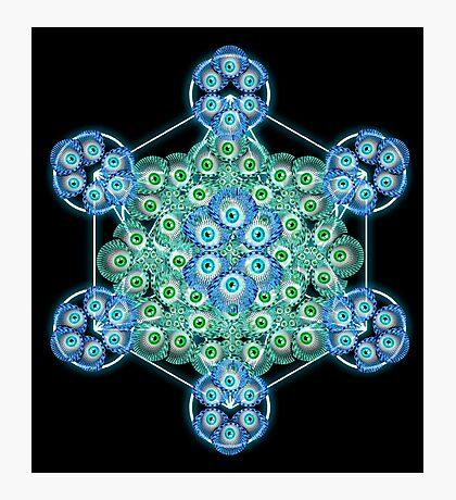 Sacred GeometrEyes Photographic Print