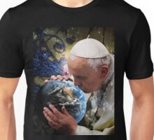 Pope Francis Kissing the Earth Unisex T-Shirt