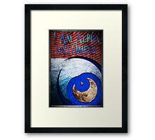 I Am Alpha and Omega Framed Print