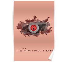 The Terminator Minimal Fan Art Poster