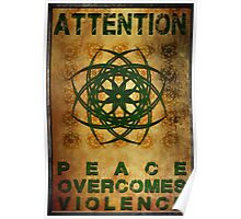 Attention: War Poster