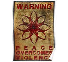 Warning: War Poster