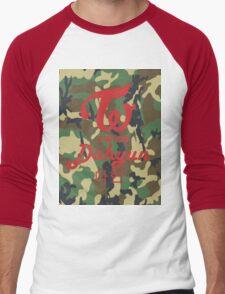 Twice Camo (Dahyun) Men's Baseball ¾ T-Shirt