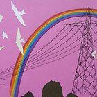 rainbow birds by Hannah Clair Phillips