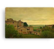 Early Morning Light in Tuscany Canvas Print