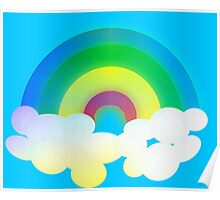 Retro-Colorful Rainbow Poster