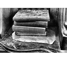 Old Books On The Organ Photographic Print