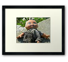 Washed Up Childhood Framed Print
