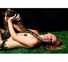 The Lady and the Serpent 5 Photographic Print