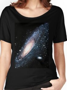 Andromeda galaxy Women's Relaxed Fit T-Shirt